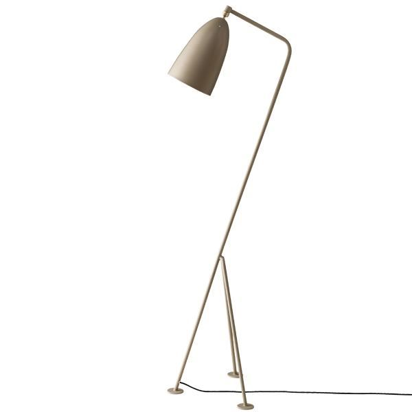 GUBI Grossman Collection Grässhoppa Lampa stojąca Szara