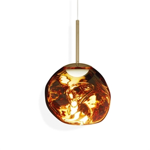 Tom Dixon Melt Pendel LED Gold Small